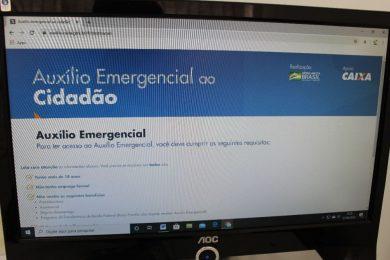 Iniciado o cadastramento de cidadãos que receberão o auxílio emergencial do Governo Federal
