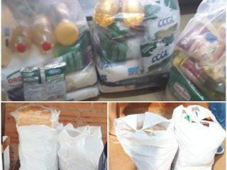 Famílias tio-huguenses em situação de vulnerabilidade receberam alimentos