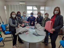 Ajuda da comunidade para confecção de máscaras