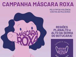 Máscara Roxa: Não à violência doméstica