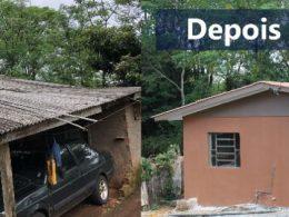 Moradia digna: Famílias tio-huguenses são beneficiadas pelo Programa Municipal de Reformas Habitacionais