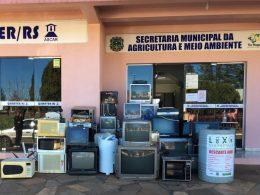 Lixo Eletrônico: Campanha recolheu duas toneladas