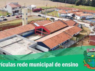 Matrículas e rematrículas na rede municipal de ensino