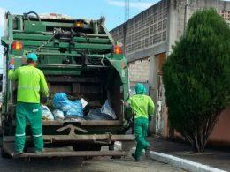 Devido aos feriados de 25 de dezembro e 1º de janeiro haverá mudança nos dias de recolhimento de lixo