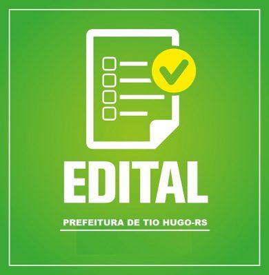 EDITAL DE HOMOLOGAÇÃO Nº 007/2021