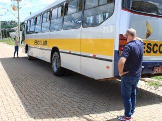 Volta às aulas: Vistoria do transporte escolar