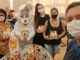 Páscoa Para todos: Projeto desenvolvido no município entrega cestas para crianças e jovens de baixa renda
