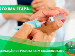 Covid-19: Iniciada a vacinação de pessoas com comorbidades