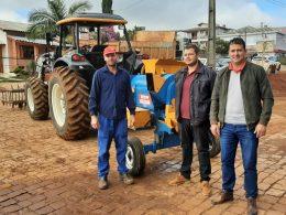 Novo implemento para a Patrulha Agrícola da Secretaria Municipal de Agricultura