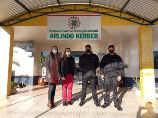 Mais Segurança: Equipes de monitoramento atuam em escolas municipais de Tio Hugo