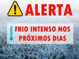 ⚠ Alerta de baixas temperaturas: