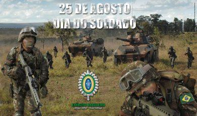 25 de agosto – Dia do Soldado