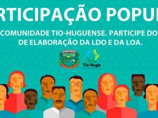 Participação da comunidade: Contribua com o processo de elaboração da LOA e da LDO