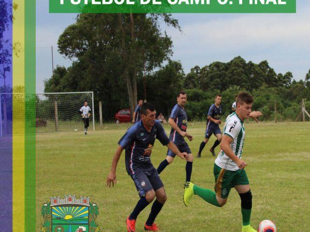 Finais do Campeonato Municipal de Futebol de Campo serão disputadas no dia 23 de outubro